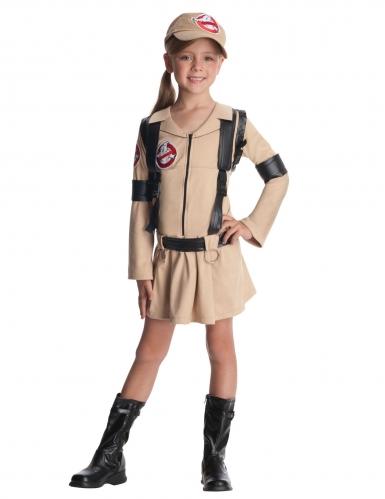 Disfarce Caça-Fantasmas™ com mochila menina - Ghostbusters™