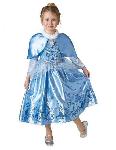 Disfarce Princesa do inverno Cinderela™ com capa menina