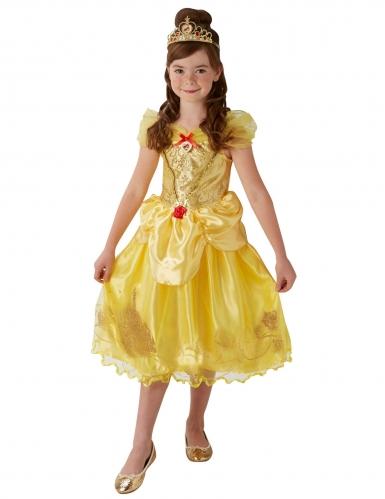 Disfarce princesa Bela™ com coroa menina