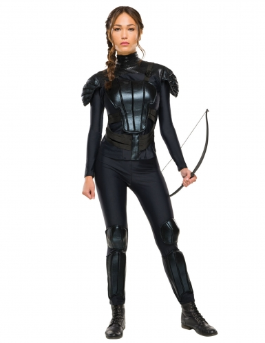 Disfarce rebelde Katniss Hunger Games™ mulher
