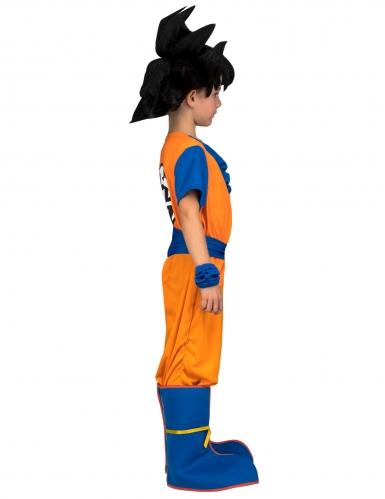 Coffret Disfarce com peruca Goku Dragon Ball™ criança-1