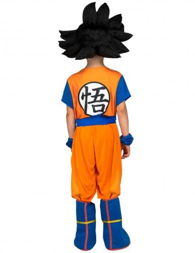 Coffret Disfarce com peruca Goku Dragon Ball™ criança-2