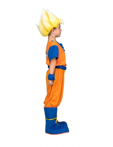 Coffret Disfarce Super Saiyan Goku Dragon Ball™ criança com peruca-1