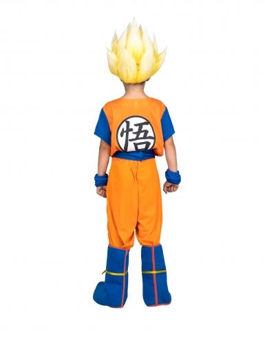 Coffret Disfarce Super Saiyan Goku Dragon Ball™ criança com peruca-2