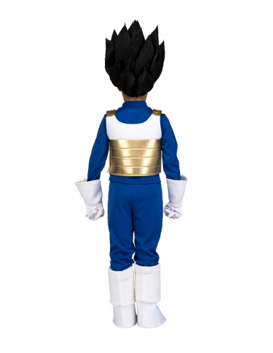 Coffret Disfarce com peruca Vegeta Dragon Ball™ criança-2