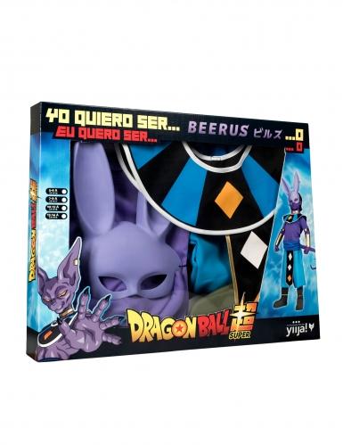 Coffret Disfarce com máscara Beerus Dragon Ball™ criança-3