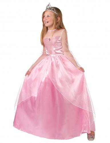 Disfarce princesa cor-de-rosa para menina-1