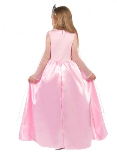 Disfarce princesa cor-de-rosa para menina-2