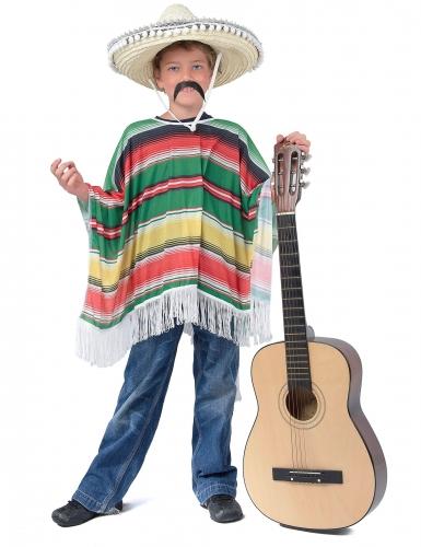Poncho mexicano criança