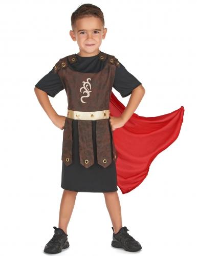 Disfarce guerreiro gladiador menino