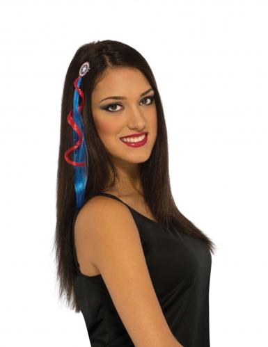 Extensão de cabelo Captain America™ mulher