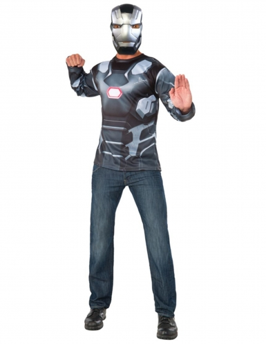 Disfarce e mascara War Machine Captain America Civil War™ adulto