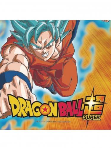20 Guardanapos de papel Dragon Ball Super™ 33 x 33 cm