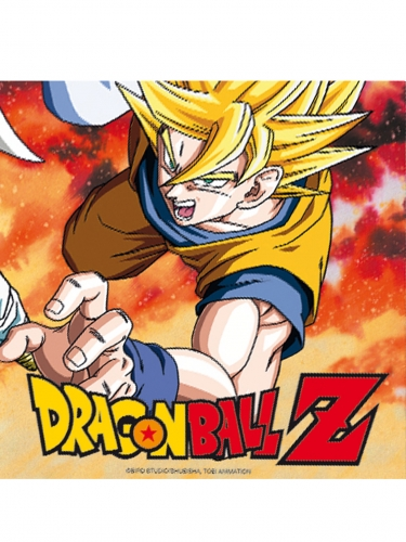 20 Guradanapos de papel Dragon Ball Z™ 33 x 33 cm