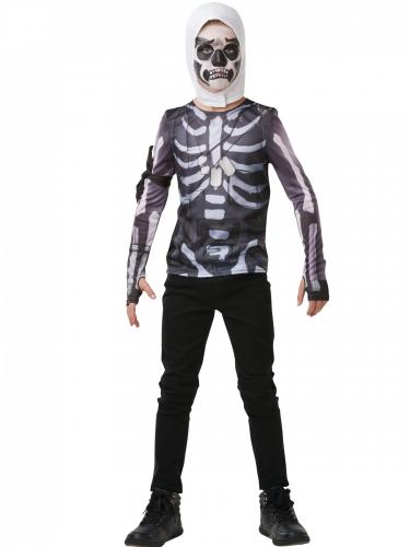 T-shirt e carapuço Skull trooper Fortnite™ adolescente