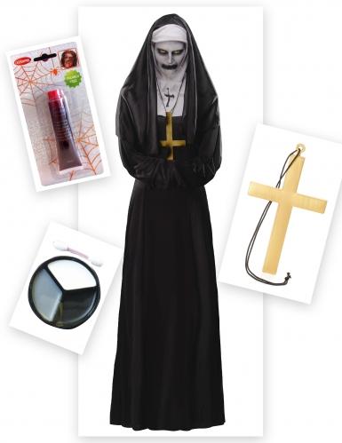 Pack disfarce freira demoníaca mulher