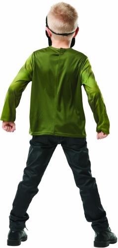 T-shirt com máscara Hulk™ criança-2