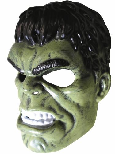 T-shirt com máscara Hulk™ criança-3
