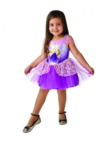 Disfarce Princesa Bailarina Rapunzel™ menina-2