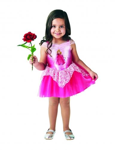 Disfarce Princesa Bailarina Aurora™ rosa menina-2