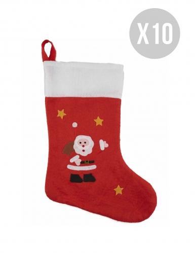 Pack de 10 meias de Natal