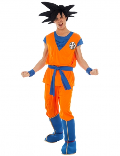 Disfarce Goku Saiyan Dragon Ball Z™ adulto