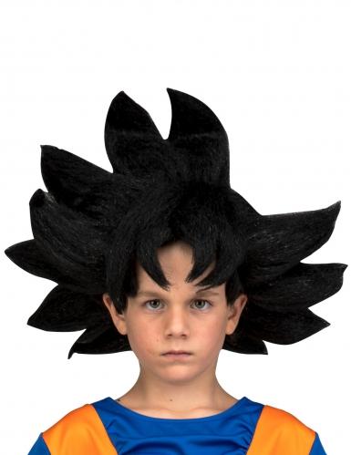 Peruca Goku Dragon Ball™ criança