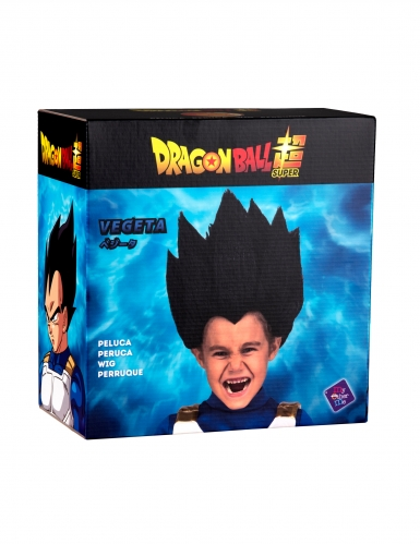 Peruca Vegeta Dragon Ball™ criança-1