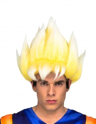 Peruca Super Saiyan Goku Dragon Ball™ adulto