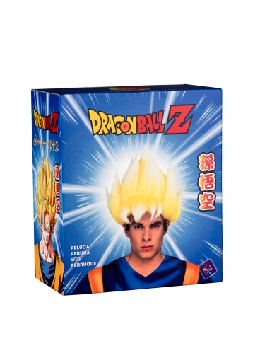 Peruca Super Saiyan Goku Dragon Ball™ adulto-1