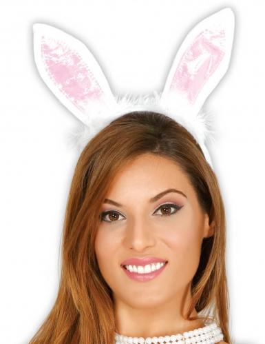 Bandolete com orelhas de coelho adulto