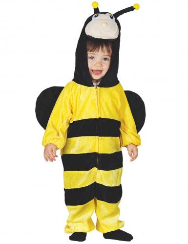 Disfarce macacão abelha com capuz bebe