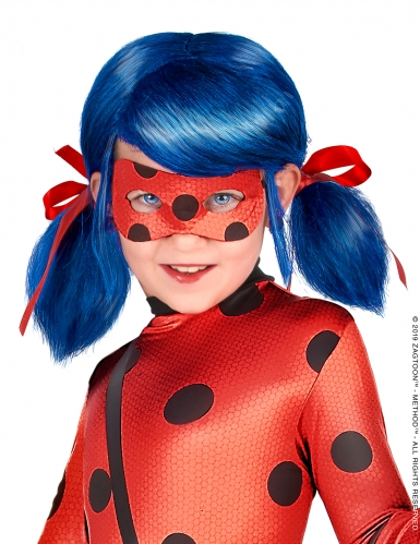 Peruca Lady Bug™- Miraculous™