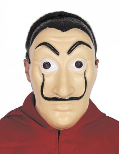 Máscara ladrão máscarado adulto