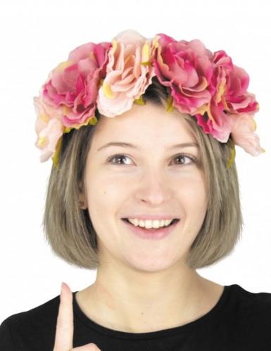 Bandolete com flores adulto