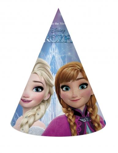 6 Chapéus de festa de cartão Frozen™