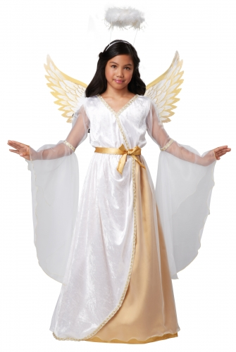 Disfarce anjo da guarda criança