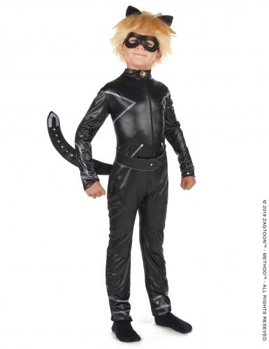 Disfarce Miraculous™ Gato Noir menino