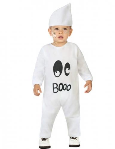 Disfarce macacão fantasma bebé