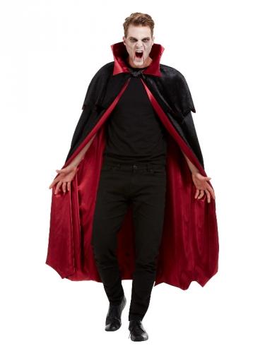 Capa de vampiro luxo veludo adulto