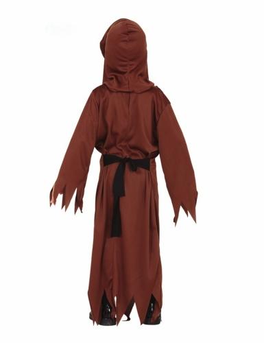 Disfarce monge esqueleto criança-1