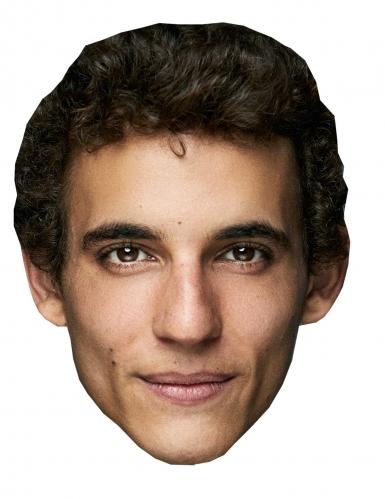 Máscara de cartão ladrão Miguel Herrán