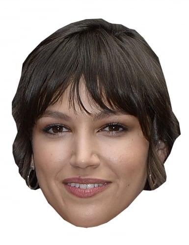 Máscara de cartão ladrão Úrsula Corberó