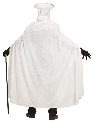 Capa de veludo branca 150 cm-3