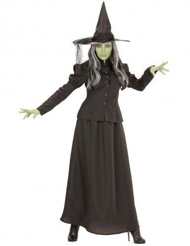 Disfarce bruxa do sótão mulher-1