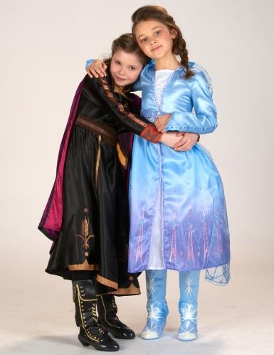 Disfarce luxo Elsa Frozen 2™ menina-3