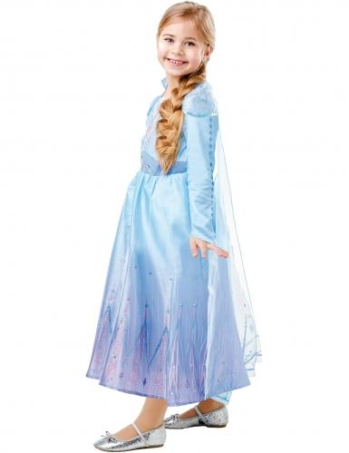 Disfarce luxo Elsa Frozen 2™ menina-2