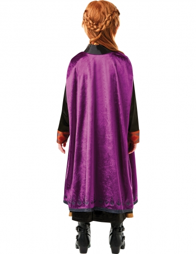 Disfarce luxo Anna Frozen 2™ menina-1
