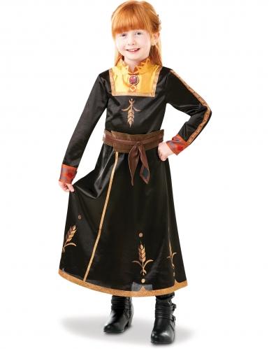 Disfarce luxo Anna Frozen 2™ menina-2