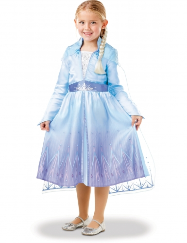 Caixa presente disfarce e trança Elsa Frozen 2™-3